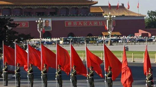 中國共產黨建黨滿百周年。 圖片來源:德國之聲