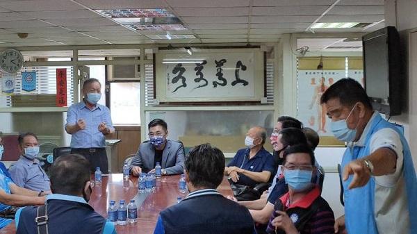 江啟臣說「國民黨不好,台灣不會好」。 圖片來源:自由時報