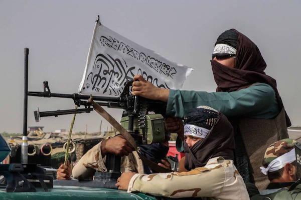 美國自阿富汗撤軍,國民黨重提「親美和陸」。 圖片來源:自由時報
