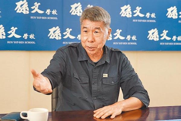 張亞中是國民黨的「中山藍」。 圖片來源:中時電子報