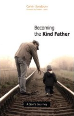 book cover image - becoming a kind father