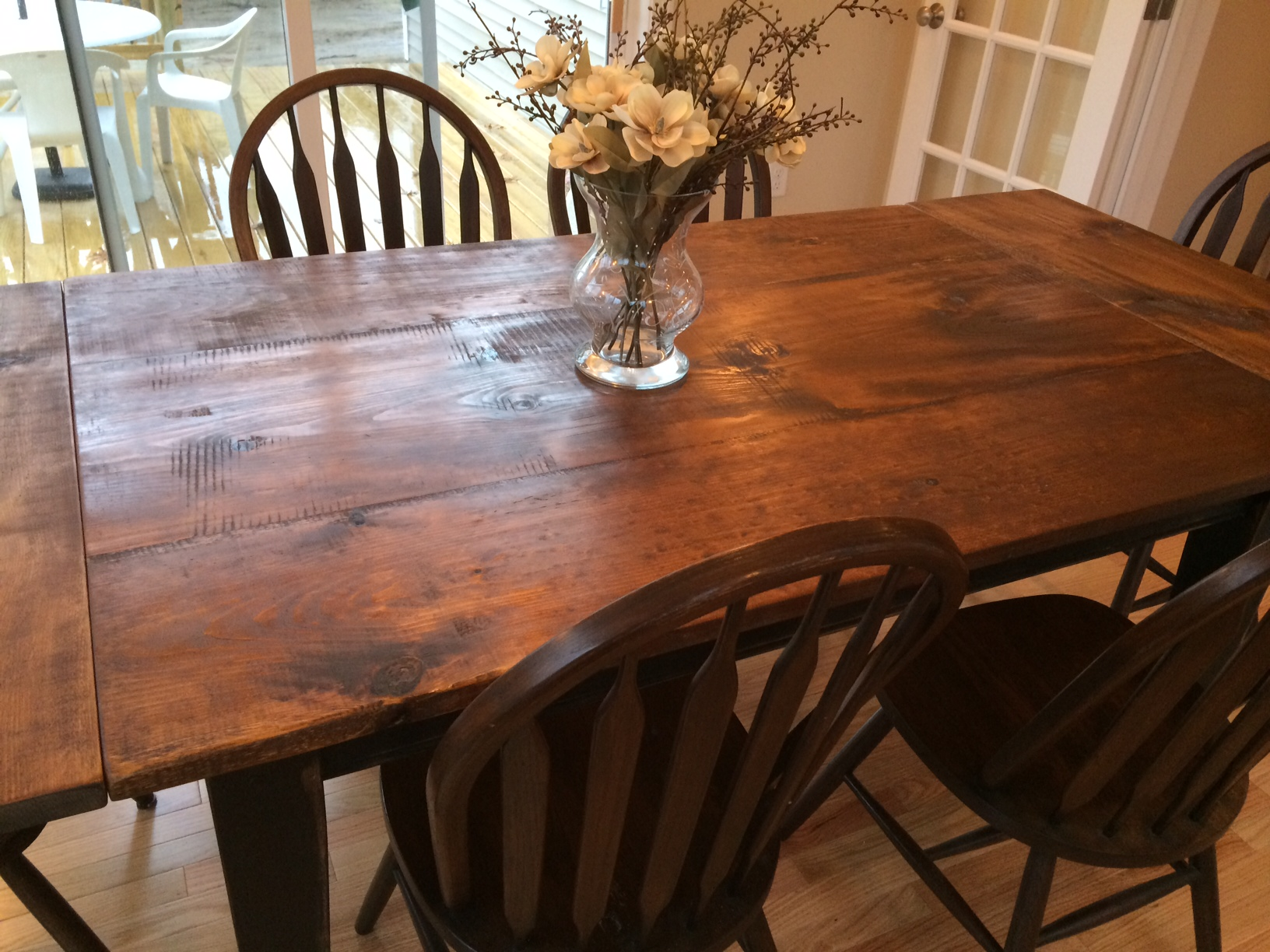 newenglandfarmtable wordpress custom kitchen tables Waaaay Up North