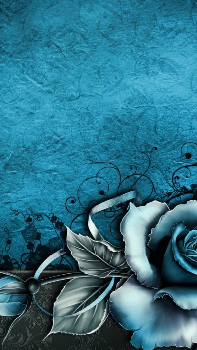 30 HD Blue iPhone Wallpapers