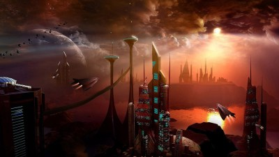 50 Futuristic City Wallpapers