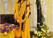 Mehndi And Sangeet Dress by sanz