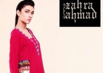 Latest Fall Winter Dress Collection 2012 For Women By Zahra Ahmad