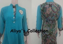 Aliya Naeem New Arrivals Casual Dresses Collection 2013 For Women 01