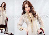 Dhaagay Latest Party Wear Collection 2013 for women 001