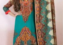 Latest Kashish Lawn Prints 2013 Volume-2 By Al Hamra Textile 001