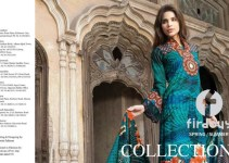 Firdous Printed Lawn Collection 2013 For Women 001