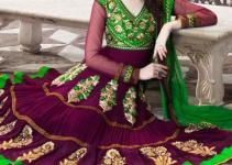 Frocks 2013 Bridal Anarkali By Brides Galleria