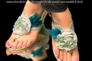 Latest Metro mid/summer Shoes Flat Foot Wear Designs