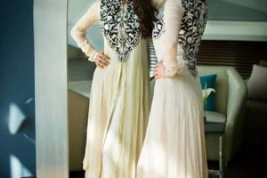 Collection Party Wear Motifs And Threads 2013 For Girls