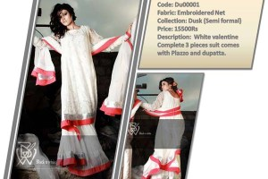 Couture Black & White Casual Wear Collection 2013 For Women