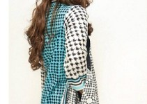 Orient Black & White Lawn Collection 2013 For Girls 001