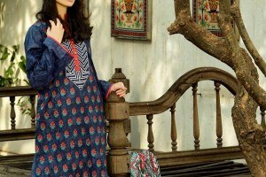 Latest Republic Stylish Embroidered Dress Lawn Prints 2014