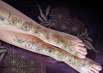 New Arabic Most Famous Mehndi Design For women 2013 1