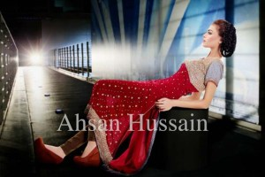 Ahsan Hussain Formal Wear Autumn Collection 2013-14 for Women 1