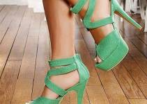 Chalany Stylish High Heels Shoes Designs 2014 For Women (1)
