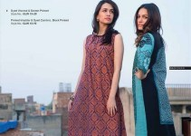 Gul Ahmed Latest Ready To Wear Winter Dress New Collection 2014-15 For Women (1)
