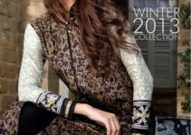 Royal Embroidered Khaddar Winter Collection 2013 by Ittehad Textile