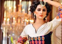 Stylish Winter Wear Party Dress Collection For Women By Rujhan Fabric (1)