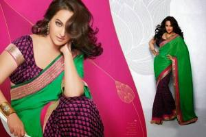 Dabbangg Girl Sonakshi Sinha Original Suits & Saree Collection 2014 3