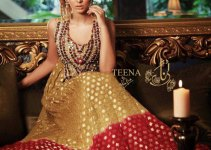 Exclusive Teena by Hina Butt Colorful Party Wear Outfits for Women 1