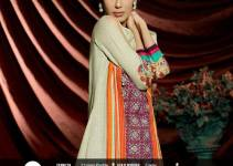 Misha Embroidered Khaddar Dresses 2014 for Women by ZTM 3