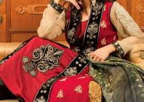 Strawberry Exclusive Embroidered Chiffon Dresses 2014 for Women 3