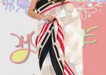 Exclusive Boishakhi Party Sarees Wear collection 2014 by Mansha 4