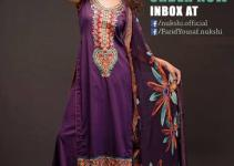 Nukshi Embroidered Dresses 2014 for Women 1