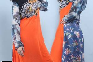Dicha Attractive Most Excellent Eid Elected Suits 2014 for Female (6)