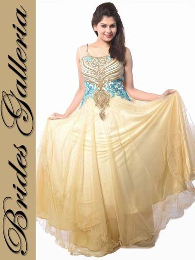 Brides Galleria Party Wear Dresses Collection 2014 1