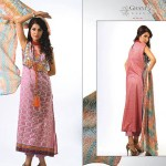 Ghani Kaka Textile New Mid Summer Dress collection 2014 2