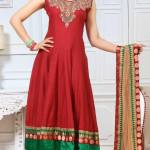 Kaneesha Shades Of Red Dresses Collection 2014 5