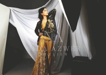 Nida Azwer Party Wear Dresses Collection 2014 1