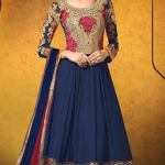 Party Wear Georgette Dresses Collection 2014 6
