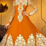 Party Wear Georgette Dresses Collection 2014 7