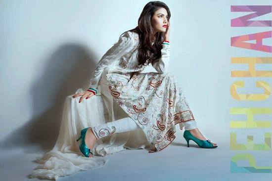 Pehchan New Formal Wear Dresses Collection 2014 5