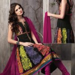 Attractive Churidar Anarkali Frock Compilation 2014 For Women (3)