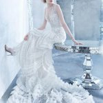 Hottest Superb Wedding Outfit Coming Season 2014 Gallery by Lazaro (6)
