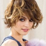 New Amazing & Sexiest Small Wavy Hair Styles Gallery 2014-15 For Ladies (1)