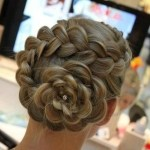 Wonderful Cool Hairstyles For Elegant Festivities Fashion 2014 (3)