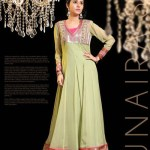Zunaira's Lounge Party Wear Dresses Collection 2014 8