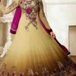 Georgette Anarkali Suits Collection 2014-15 6