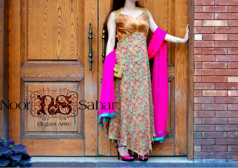 Noor Saharre pre fall dresses collection 2014-15 5