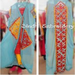 SIndhi Embroidery Kurta Collection 2014-15 5