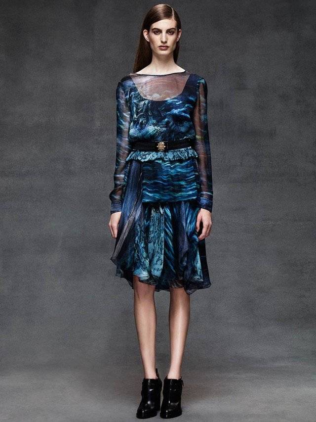 Special Gorgeous Alberta Ferretti Cold Season Outfits 2015 Selection (4)