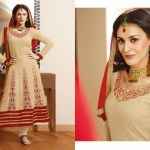 Zobi Fabrics Indian Party Wear Dresses Collection 2014-15 10